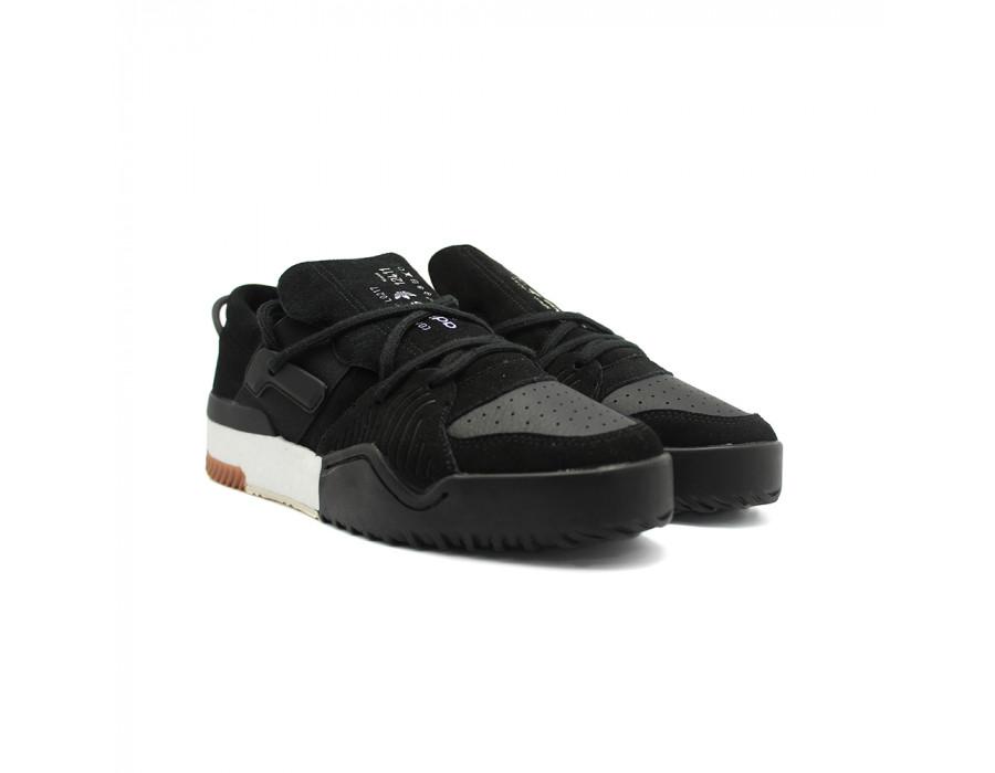 Купите в 1 клик Кроссовки мужские Adidas x Alexander Wang Low Top Basketball Black beinkeds.ru