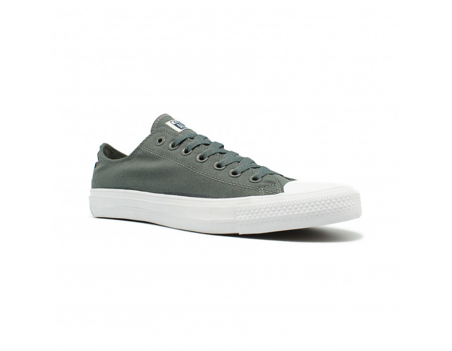 Мужские кеды Converse All Star ll Chuck Taylor Low серые