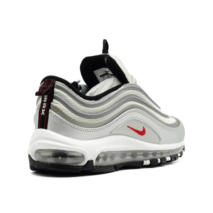 3ae6d9116 Женские кроссовки Nike Air Max 97 Silver
